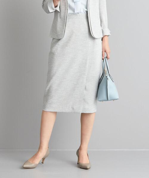 【WORK TRIP OUTFITS】★WTO BC 麻調 オックス スカート