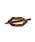 ANEMONE(アネモネ)の「べっこう風マーブルのマジェステ[ペンタゴン](その他ヘアアクセサリー)」|ブラウン