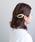 ANEMONE(アネモネ)の「べっこう風マーブルのマジェステ[ペンタゴン](その他ヘアアクセサリー)」|アイボリー
