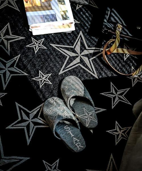 BRID(ブリッド)の「STAR ROOM SHOES Men's(ルームシューズ/スリッパ)」|グレー