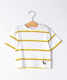 【キッズ】ボーダープリントTシャツ