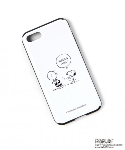Heather(ヘザー)の「PEANUTS iPhone8ケース 841503(モバイルケース ...