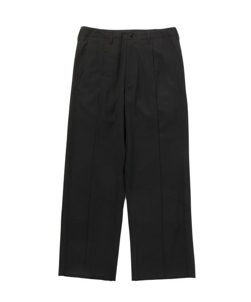 FALL2019 WIDE STRAIGHT PANTS