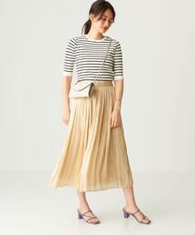 FC AIRメタルサテン ギャザースカート