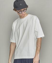BY ハイブリッドコットン テーパード Tシャツ  -MADE IN JAPAN-