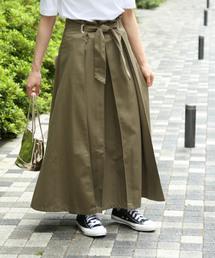 ROPE' mademoiselle(ロペマドモアゼル)の【DICKIES×ROPE'mademoiselle】マキシスカート(スカート)