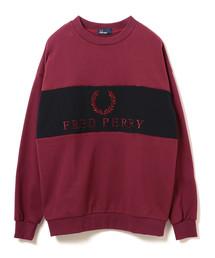 BEAMS(ビームス)の「FRED PERRY × BEAMS / 別注 ロゴ切替 スウェットクルー(スウェット)」