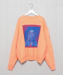 <C.E>DIAL CUT CREW NECK SWEAT/スウェット.