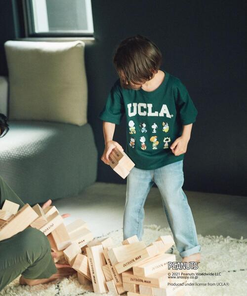 【別注】EX TJ UCLA×PEANUTS キャラクター/ Tシャツ 100-130cm