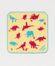 HAKKA BABY(ハッカベビー)の恐竜プリントミニタオル(フェイスタオル)