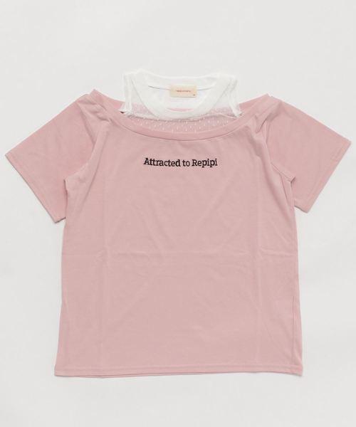 レースカサネギフウTシャツ