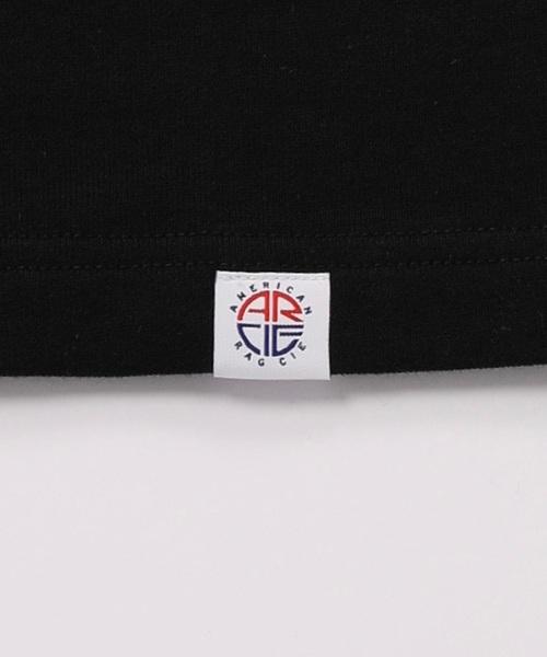 AMERICAN RAG CIE Three Quarter Sleeve Micro Terry Sweatshirt/アメリカンラグシー クォータースリーブミニ裏毛スウェット