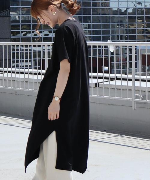【WEB限定】アシンメトリーワンピース