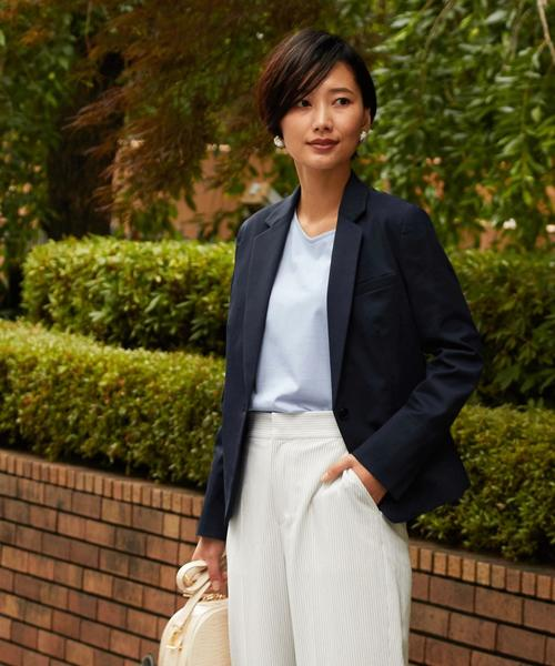 【WORK TRIP OUTFITS】BC ピケ テーラード