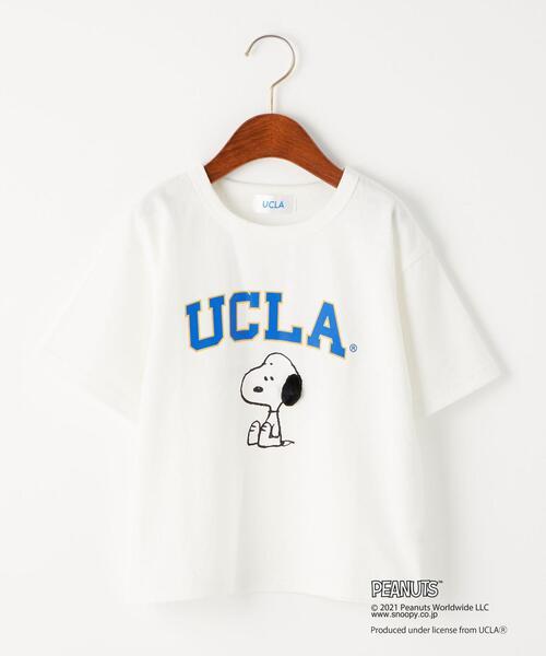 【別注】EX TJ UCLA×PEANUTS スヌーピー/ Tシャツ 100-130cm