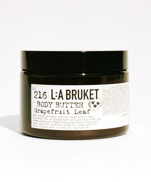 「L:A BRUKET/ラブルケット」 オーガニック ボディクリーム ボディバター 350ml■