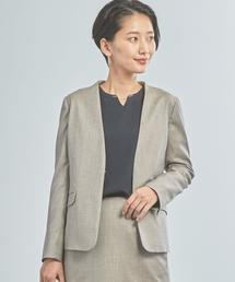 【WORK TRIP OUTFITS】★WTO BC シャーク ノーラペルジャケット