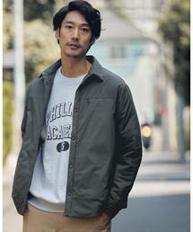 【別注】<DAIWA(ダイワ)×green label relaxing>パデット シャツ ジャケット †
