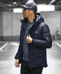 The DUFFER of ST.GEORGE | 〔BLACK LABEL〕 SPORTY SPEN JACKET:ナイロンブルゾン(ナイロンジャケット)