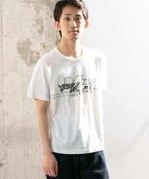WORK NOT WORK URBAN RESEARCH(ワークノットワークアーバンリサーチ)のMASK PRINT T-SHIRTS-D(Tシャツ/カットソー)