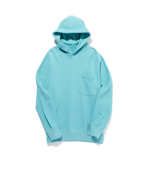 N.HOOLYWOOD SPRING & SUMMER 2019 COLLECTION LINE POCKET HOODIE (ORIGINAL FABRIC)