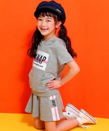 1a1157f2c6430 ANAP kids(アナップキッズ)の「ミニ裏毛BOXプリントSETUP(パーカー