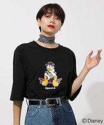 AZUL BY MOUSSY(アズールバイマウジー)のSKATE DONALD TEE/スケートドナルドTシャツ(Tシャツ/カットソー)