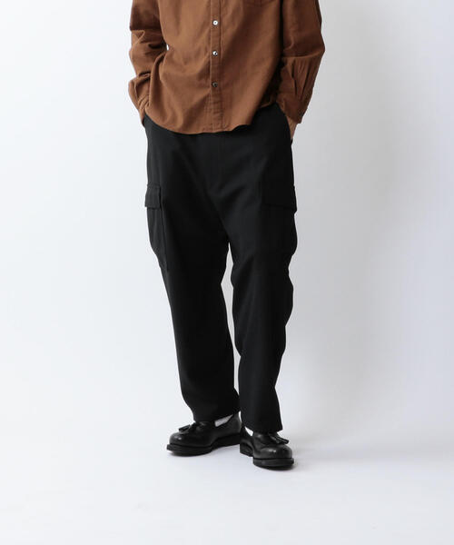 <Steven Alan> TW CARGO BOLD BAGGY TAPERED-JUST/パンツ