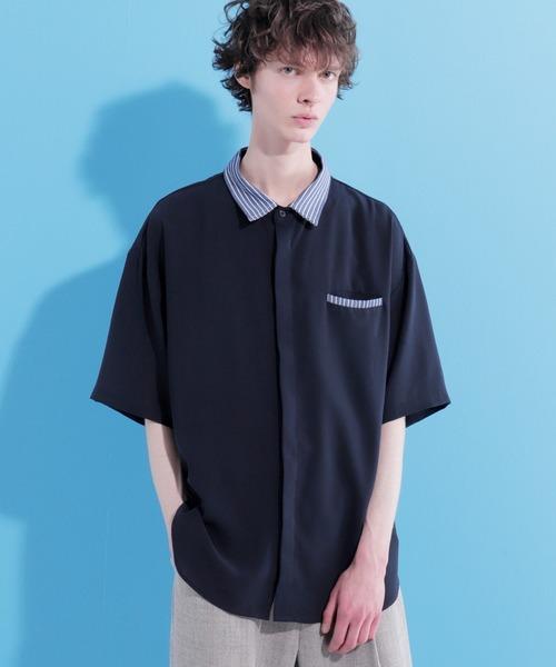 クレリックサマーシャツ(1/2 short sleeve)