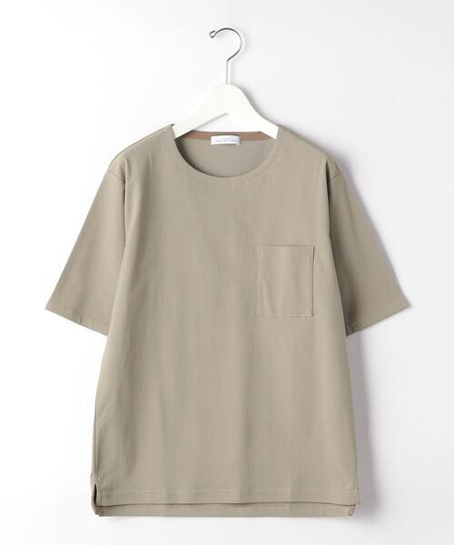 CSM エラシックマイヤー ノーカラー 半袖 Tシャツ カットソー