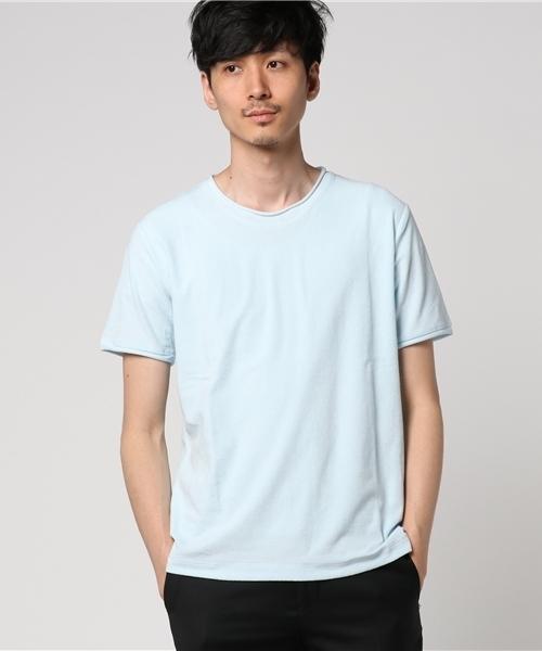 ESTNATION パイル地Tシャツ