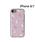 Hamee(ハミィ)の「iphone7 iphone8 iphoneX iPhoneXS ケース Latootoo カード収納型 ミラー付き iPhoneケース (花柄)(モバイルケース/カバー)」|ベビーピンク