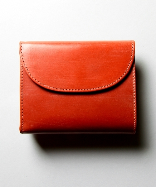 """<Whitehouse Cox>""""Antique Bridle Leather"""" SMALL-3FOLD WALLET/3つ折り財布 ¨"""