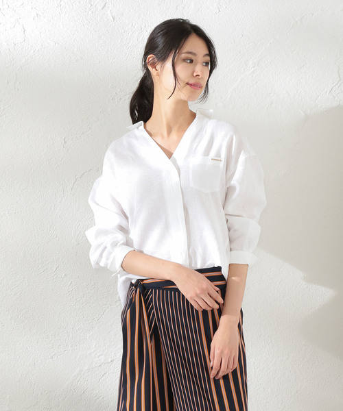 お気にいる 【セール】【LOVELESS】WOMEN カラーランリネンシャツ(シャツ WOMENS,ラブレス/ブラウス)|LOVELESS(ラブレス)のファッション通販, ミトヨグン:aecf281e --- blog.buypower.ng