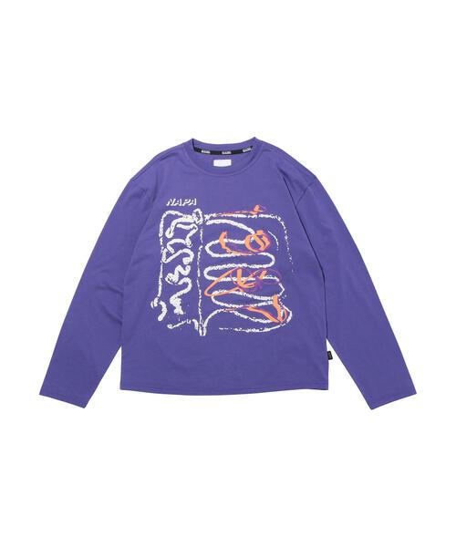 <NAPA by MARTINE ROSE> S-SENALES L/S T/Tシャツ
