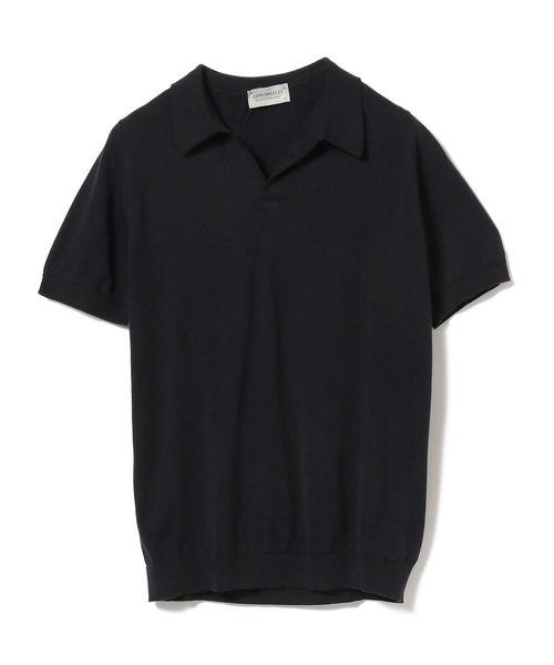 JOHN SMEDLEY / ANCONA 30ゲージ コットン スキッパーポロシャツ