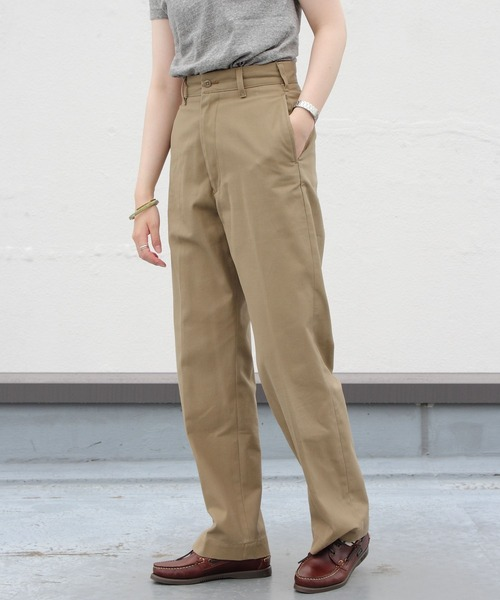 THE SHINZONE/シンゾーン ハイウエストチノ HIGH WAIST CHINO PANTS
