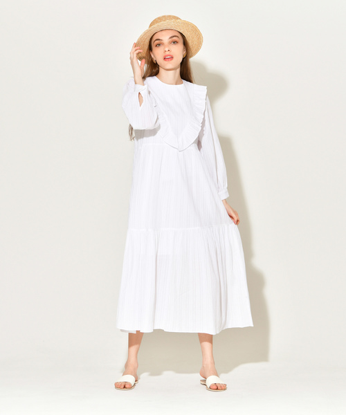 feminine cotton dress