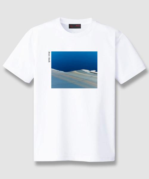 AndArts(アンダーツ)の「And A x 安藤 瑠美 dream islands S/S PHOTO TEE フォト 半袖 Tシャツ(Tシャツ/カットソー)」|ホワイト