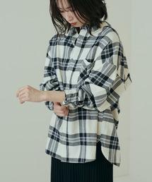 CIAOPANIC(チャオパニック)の【追加生産】チェック柄ビッグシルエットシャツ(シャツ/ブラウス)