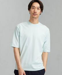 SC ☆ LOTUS クロス クルーネック 5分袖 カットソー Tシャツ #