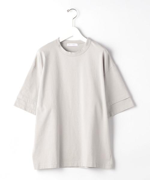 『 BRACTMENT ( ブラクトメント ) 』 ハイゲージ W スリーブ クルー 半袖 Tシャツ