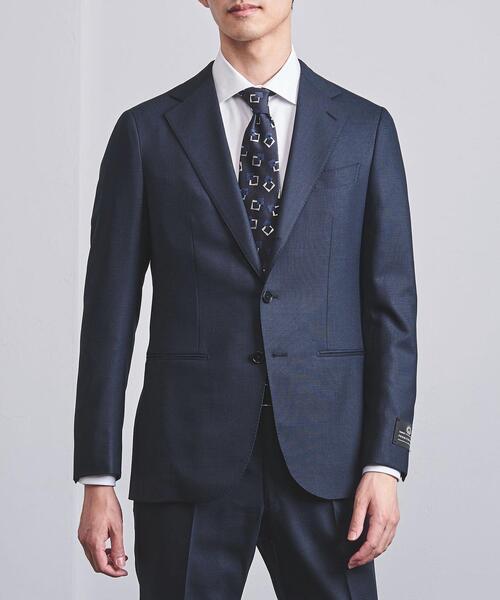 <UNITED ARROWS>タスマニア ピンチェック 3B スーツ