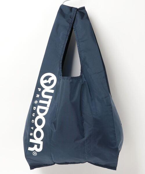 エコバッグ ショルダーバッグ 収納機能付き カラビナが付いているのでバッグにも取り付け可能