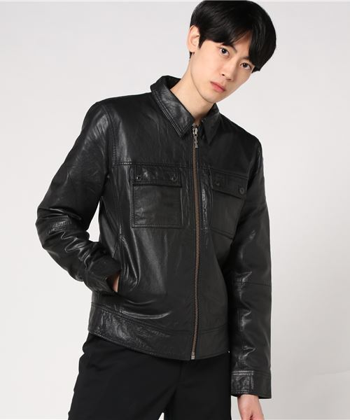 激安な 【セール】レザーJK(ブルゾン)|Nudie Jeans(ヌーディージーンズ)のファッション通販, Yシャツ、バッグ財布のMENS ZAKKA:d93659be --- arguciaweb.com