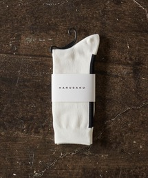 HARUSAKU(ハルサク)のHARUSAKU / Men's SIngle Back LIne Socks:ハルサク メンズシングル バックライン ソックス(ソックス/靴下)