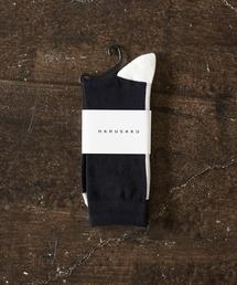 HARUSAKU(ハルサク)のHARUSAKU / SIngle Back LIne Socks:ハルサク メンズシングル バックライン ソックス(ソックス/靴下)