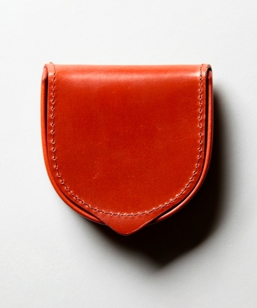 """<Whitehouse Cox>""""Antique Bridle Leather"""" SMALLTRAYPURSE/コインケース ¨"""