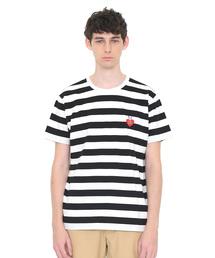 graniph(グラニフ)のコラボレーションTシャツ/ハートフェイス(エリックカール)(Tシャツ/カットソー)