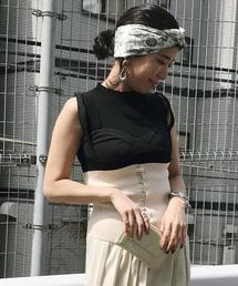 AMERI(アメリ)のBUSTIER DOCKING KNIT(ニット/セーター)